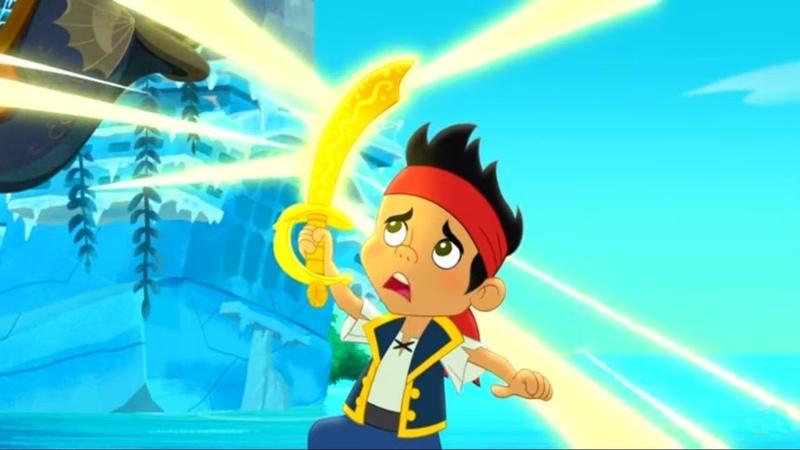 Джейк и Пираты Сражение за море ТВ версия Мультфильм Disney