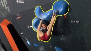 Shauna Coxsey's Toe Hook Skills!   Beta Break