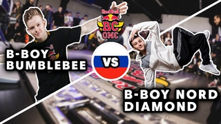 B-Boy Bumblebee vs. B-Boy Nord Diamond | BATTLE | Red Bull BC One Cypher Moscow 2021