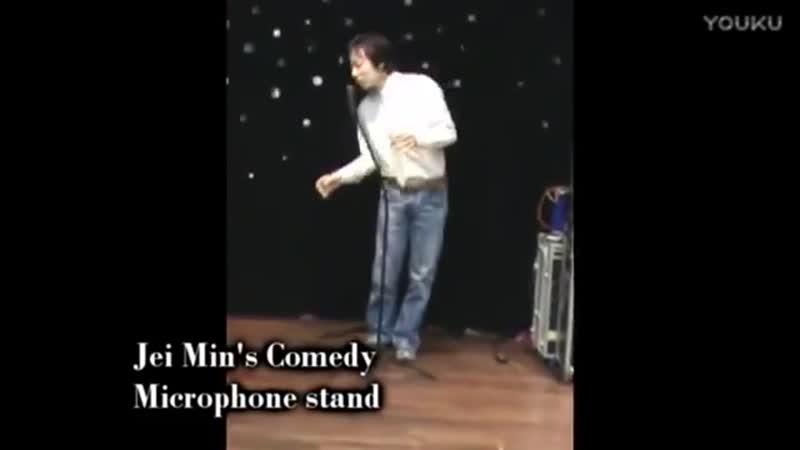 Комедия подставка для микрофона мерцающий DVD сценический