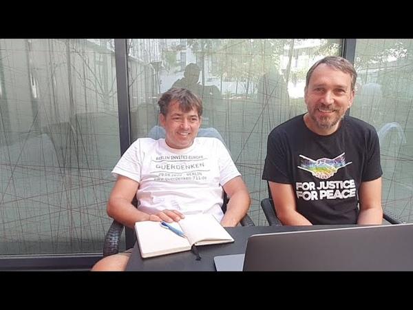 Live Michael Ballweg Und Ralf Ludwig Statement Demo 29 08