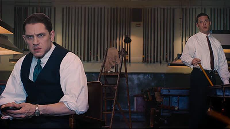 Том Харди в роли легендарных кровавых братьев Крэй Легенда 2015