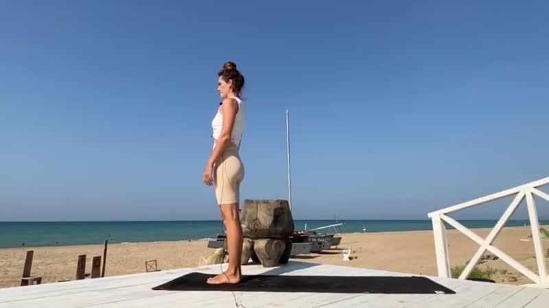 Утренняя практика йоги для бодрости духа