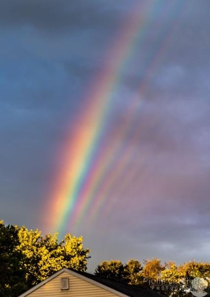 Сразу 5 радуг в небе!