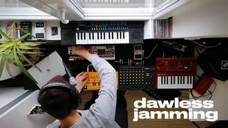 Neutron - Dawless Jam - Acid with Behringer TD-3, Volca Sample, Volca Keys, Monologue & Casio SA-20