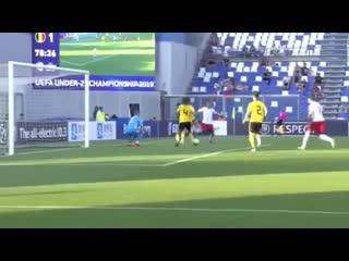 Sebastian szymanski goal | poland u21 vs belgium u21 | 16.06.2019