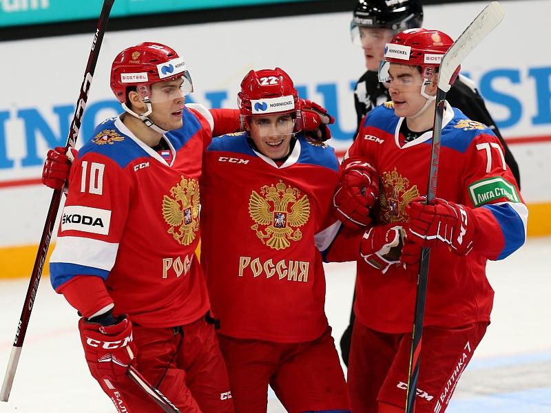 Сборная России разгромила Финляндию на «Кубке Карьяла» (Видео)