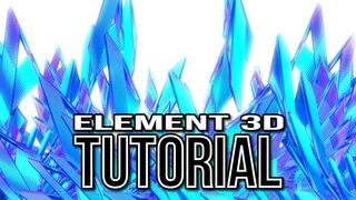 Element 3D Crystals   After Effects Tutorial Background #95
