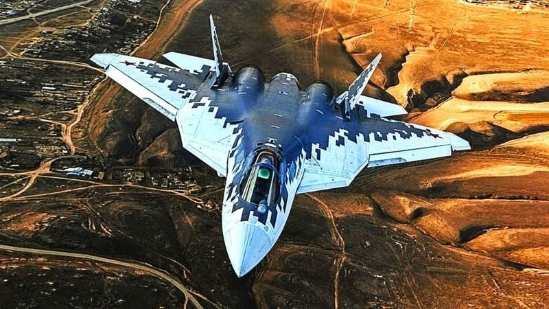 Sukhoi Su 57 CONQUERING THE SKY