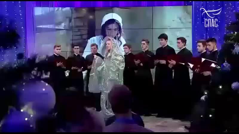 Светлана Феодулова поёт часть кантаты о Деве Марии и Иосифе В мире животных