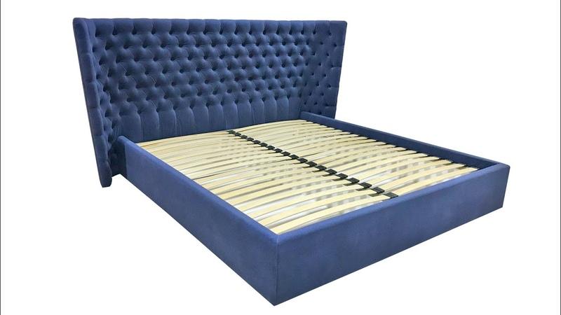 Кровать с полукруглым изголовьем на заказ