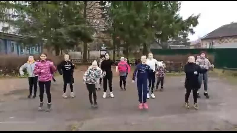 Флешмоб коллектив ВДОХНОВЕНИЕ село Андроники