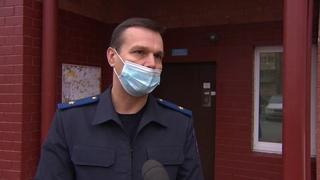 Плановая проверка качества уборки и дезинфекции подъездов прошла сегодня в Раменском.