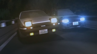 [AMV] Initial D - E-Type/Here I Go Again