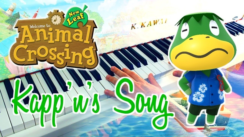 🎵 Kappns Song (ANIMAL CROSSING New Leaf) ~ Piano cover w Sheet music!