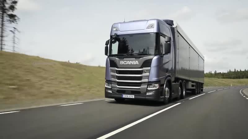 Music clip Italo Disco Mix Scania Trucks