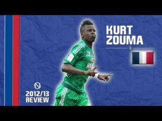 KURT ZOUMA | Tackles, Skills, Goals | Saint-Étienne | 2012/2013 (HD)