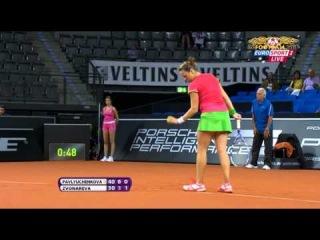 Tennis. . A. Pavlyuchenkova (RUS) - V. Zvonareva (RUS).avi