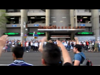 Фанаты Реала Обосрали Барселону!