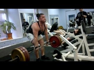 Становая тяга, тяга на прямых ногах, румынская тяга, мертвая тяга, Dead Lift - 150 кг