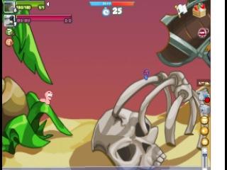 Вормикс: Я vs Артем (7 уровень)