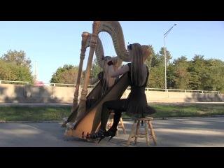 Американские сестры-близнецы игрют на арфах!!! BON JOVI - It's My Life (Harp Twins) Camille and Kennerly, Harp Duet