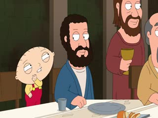 family guy - тайная вечеря