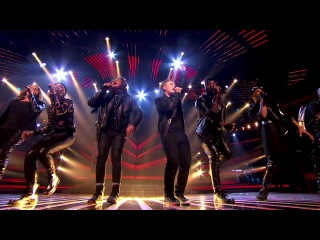 The Final 6 sing Everybody In Love with JLS - Live Week 7 - The X Factor 2013