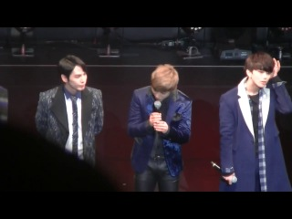 """[fancam:fan event] 140331 b.a.p @ фанмитинг """"the first date with baby japan"""" в токио."""