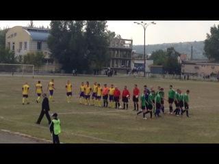 Final: Firladeni-Salcuta (salutarea echipelor)