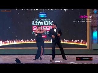 21st annual life ok screen awards - танец от алии бхатт и шахрукх кхана