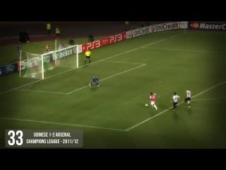 Theo Walcott All 69 Goals For Arsenal