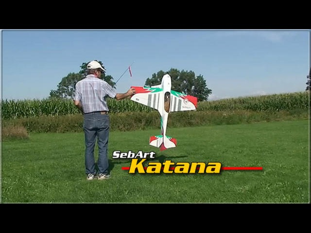 SebArt Katana 3D Flug