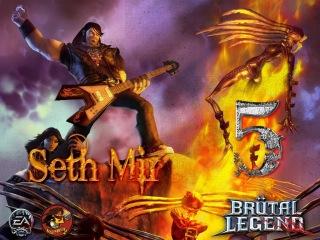 Brutal Legend (Let's play by Seth Mir on PC) (rus) перевод озвучки ЧАСТЬ 5