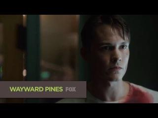 Седьмой сник-пик второй серии второго сезона сериала Wayward Pines (Уэйуорд Пайнс / Сосны)