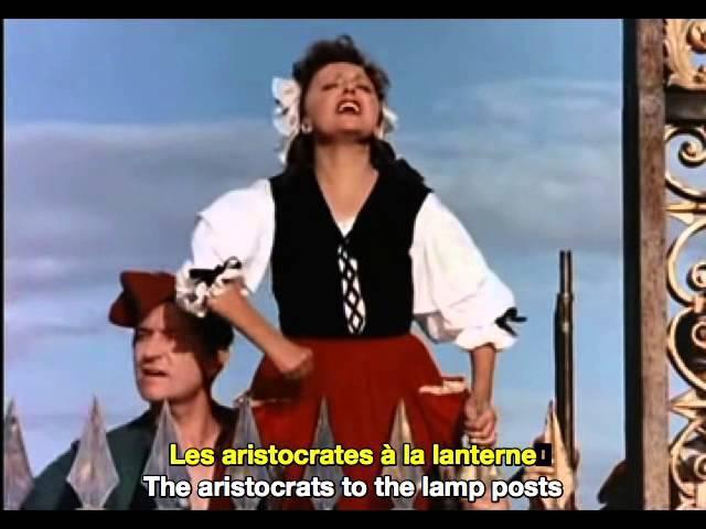 Edith Piaf Le Ca Ira It'll Be Fine French English Subtitles