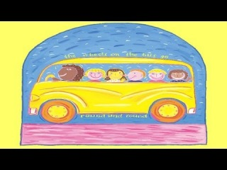 The Wheels on the Bus - Children Love to Sing & Dance Action Kids Songs