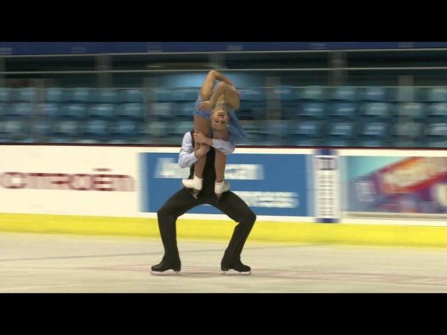 C. GLASTRIS N. LETTNER (GRE) - ISU JGP Croatia Cup 2012 Junior Ice Dance Free Dance