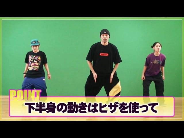 【HIPHOP】バタフライ RISING Dance School ライジングダンス STEZO BUTTERFLY   TDC