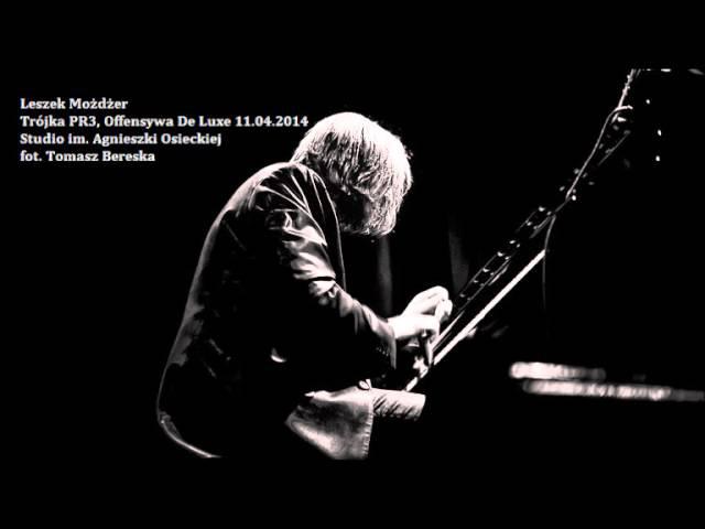 Leszek Możdżer - koncert w Trójce 2014