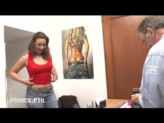 Первый секс кастинг для рыжей first time anal casting of pretty young redhead babe