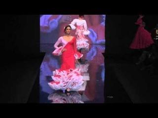 Pasarela de Vestidos de Flamenca de Luchi Cabrera en Simof 2012 - Bandoleras