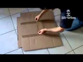 Делаем устройство для складывания футболок