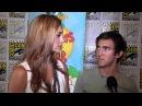 Alyson Stoner Vincent Martella Chat Phineas Ferb at 2012 Comic-Con