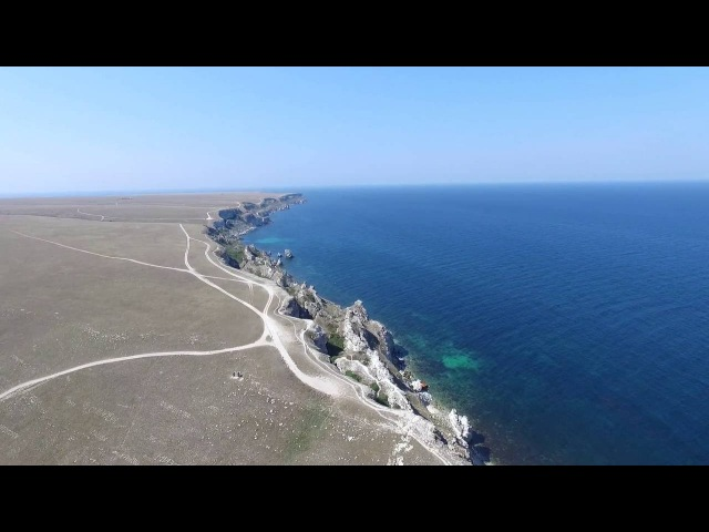 Урочище Джангуль мыс Тарханкут Крым