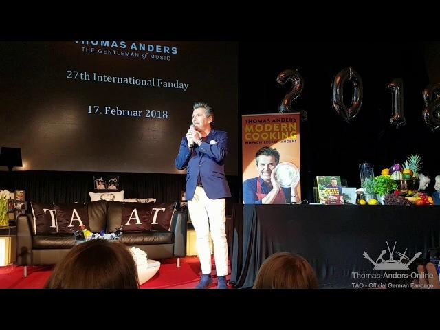 Thomas Anders - SOMEWHERE - 27. International Fanday