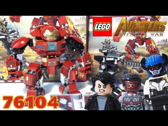 Обзор LEGO Super Heroes 76104 - The Hulkbuster Smash-Up (Бой Халкбастера)