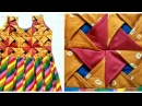 Origami /flower Dress /box pleated frock Making/cutting stitching day cat may /girl dress making