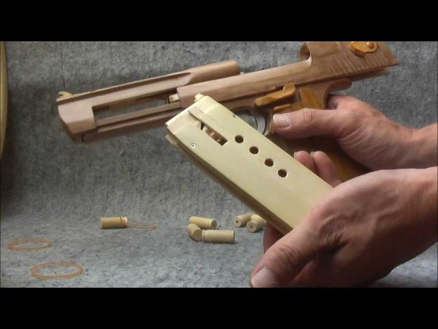 BLOW⇔BACK RUBBER BAND GUN 04.2 I.W.I DESERT EAGLE ejection is added
