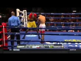 John Thompson vs Ricardo Pinell